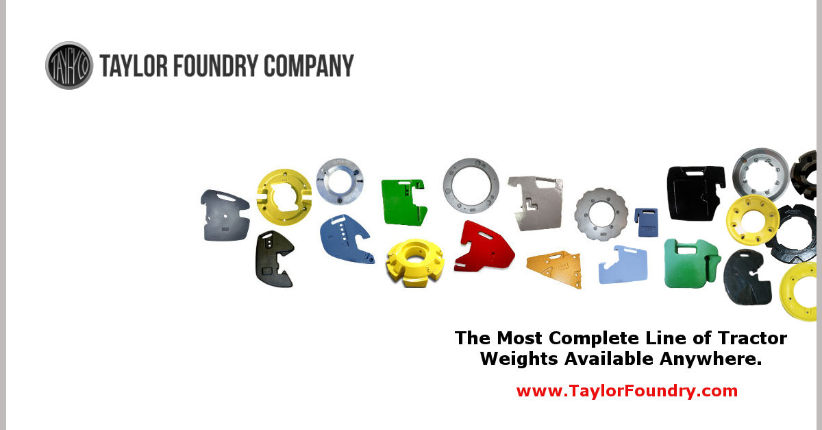 Tractor Weights | Foundry Direct | Taylor Foundry Company